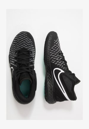 KD TREY 5 VIII  - Basketbalschoenen - black/white/aurora/smoke grey
