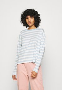 Monki - MAJA 2 PACK - Long sleeved top - blue/pink - 1