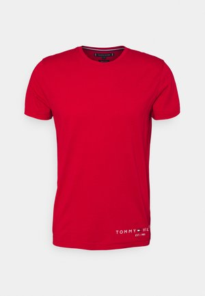 LOGO TEE - Print T-shirt - primary red