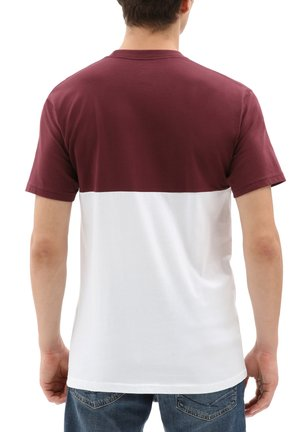 COLORBLOCK TEE - Camiseta estampada - port royale-white