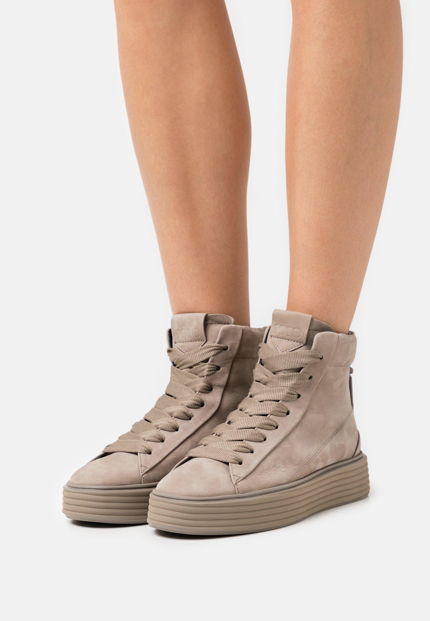 Mujer Zapatillas altas