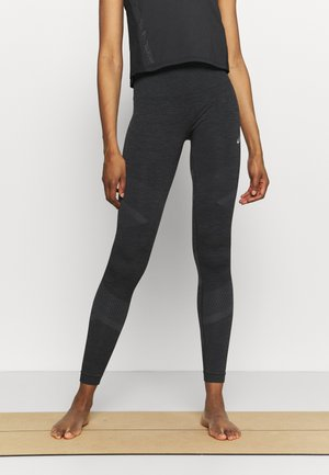 SEAMLESS  - Medias - performance black/graphite grey