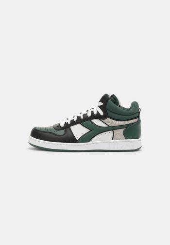 MAGIC DEMI ICONA UNISEX - High-top trainers - white/dark green