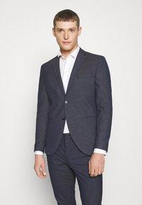Selected Homme - SLHSLIM MAZELOGAN - Suit - medium blue melange - 2