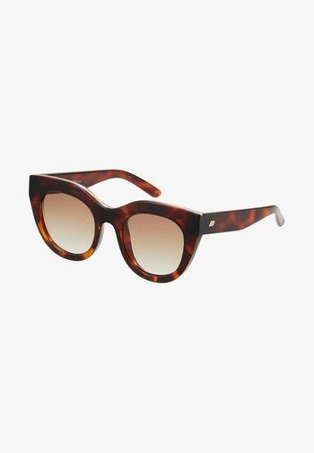 AIR HEART - Sunglasses - toffee tortoise