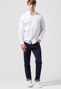 BRAX - STYLE COOPER  - Straight leg jeans - blue black - 1