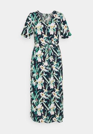 VMSIMPLY EASY CALF SHIRT DRESS - Skjortklänning - navy blazer