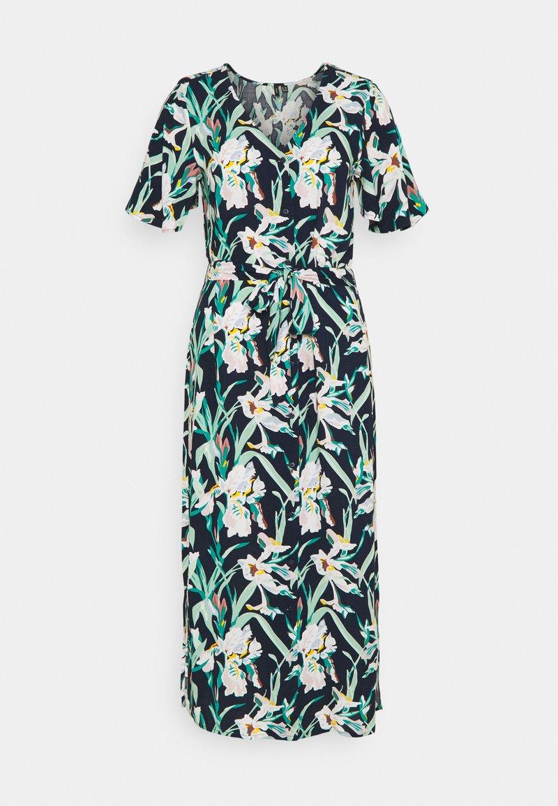 Vero Moda Tall - VMSIMPLY EASY CALF SHIRT DRESS - Vestido camisero - navy blazer