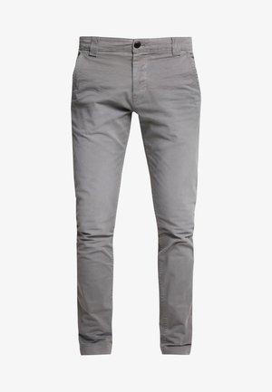 SCANTON WASHED PANT - Chinos - grey