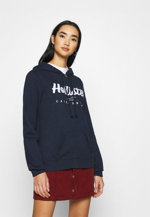 TECH CORE  - Zip-up hoodie - navy