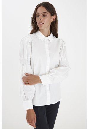 IXGRENNA SH - Button-down blouse - cloud dancer