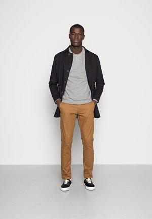 2 PACK - Sweater - mottled light grey/black