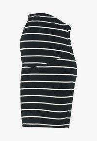Zalando Essentials Maternity - Pencil skirt - black/off white - 3