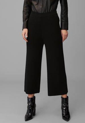 Spodnie materiałowe - pure black