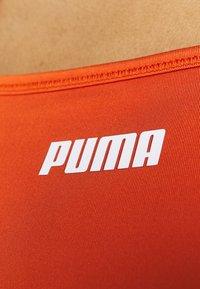 Puma - PAMELA REIF X PUMA SQUARE NECK BRA - Medium support sports bra - burnt orchre - 6