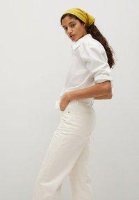Mango - GABRIELA - Straight leg jeans - ecru - 4