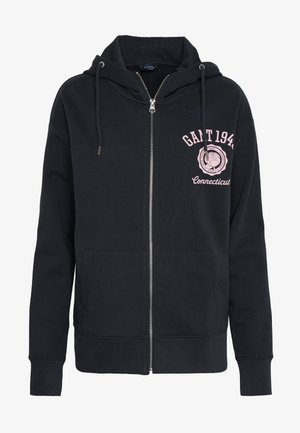 PEONY - Zip-up hoodie - evening blue