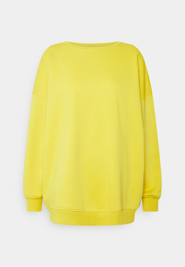 ONYFAVE LIFE O-NECK OVERSIZED  - Bluza - oil yellow