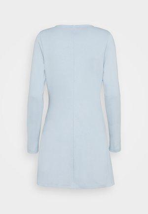 Jersey dress - celestial blue
