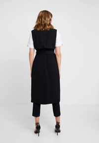 Banana Republic - MAXI TRENCH - Gabardina - black - 2