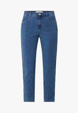 CARO - Slim fit jeans - hellblau meliert