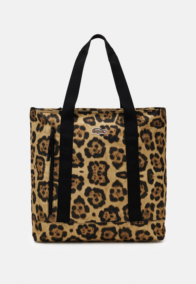 Tote bag - brown/black