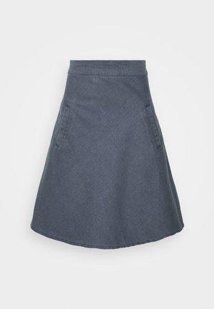 HEAVY STRETCH STELLY - A-line skirt - grey wash