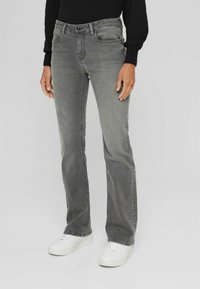 Esprit Collection - Bootcut jeans - grey medium wash - 3