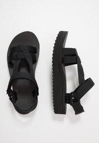 Teva - MIDFORM ARIVACA WOMENS - Walking sandals - black - 1