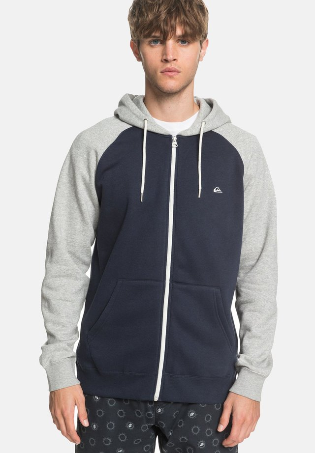 EVERYDAY - Zip-up hoodie - blue