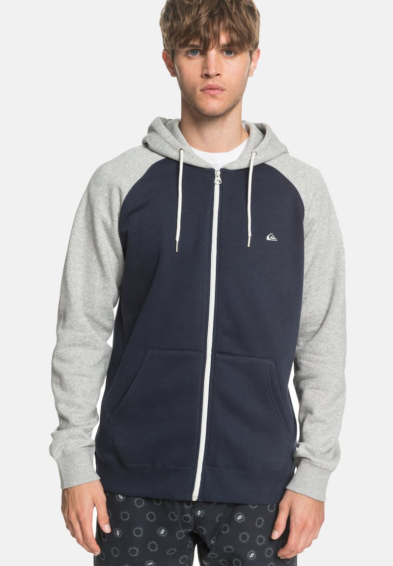 Quiksilver - EVERYDAY - Felpa aperta - blue