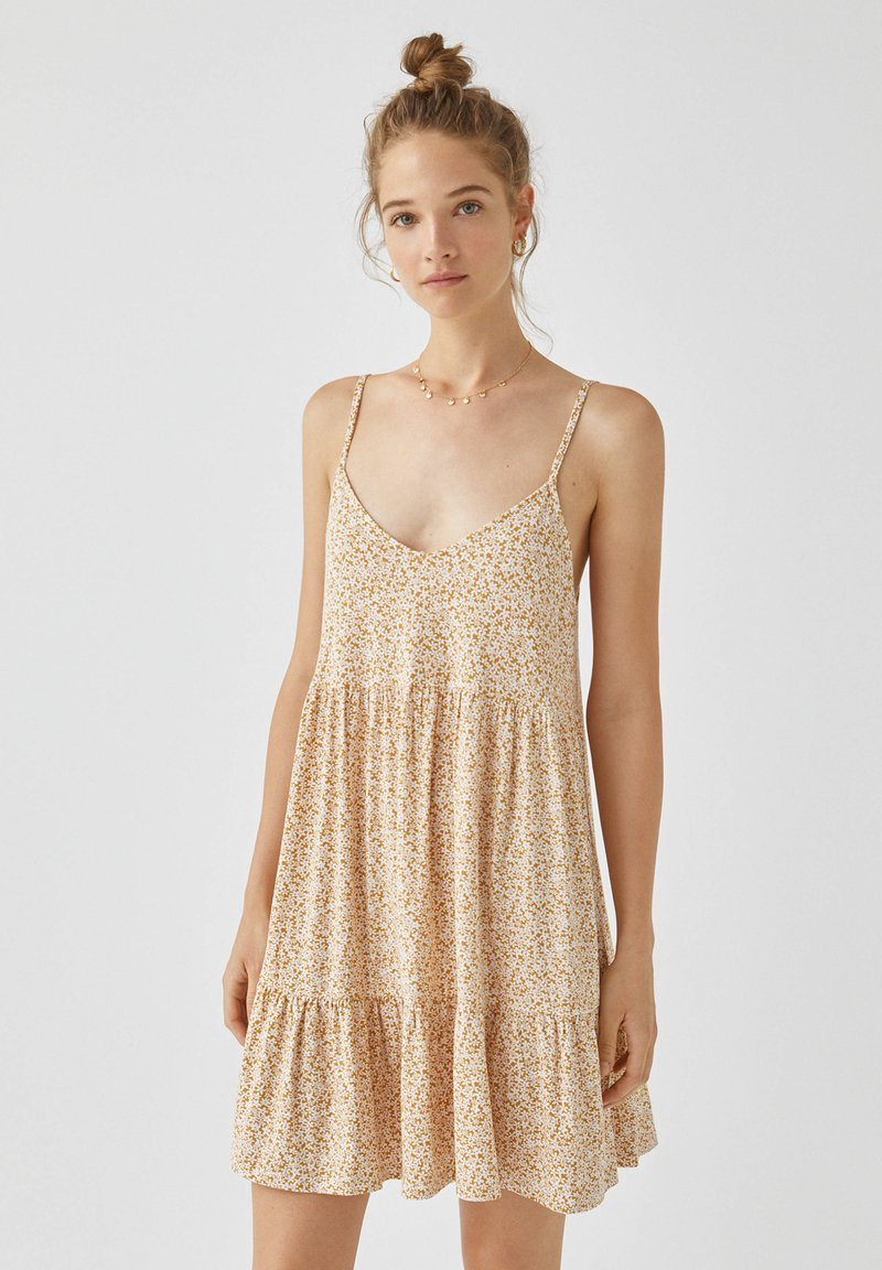PULL&BEAR - Day dress - yellow