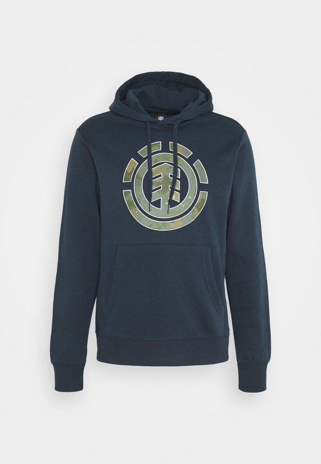 WATER CAMO ICON FILL - Hoodie - eclipse navy