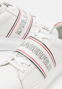 KARL LAGERFELD - KAPRI MENS BAND LACE - Sneakers basse - white - 5
