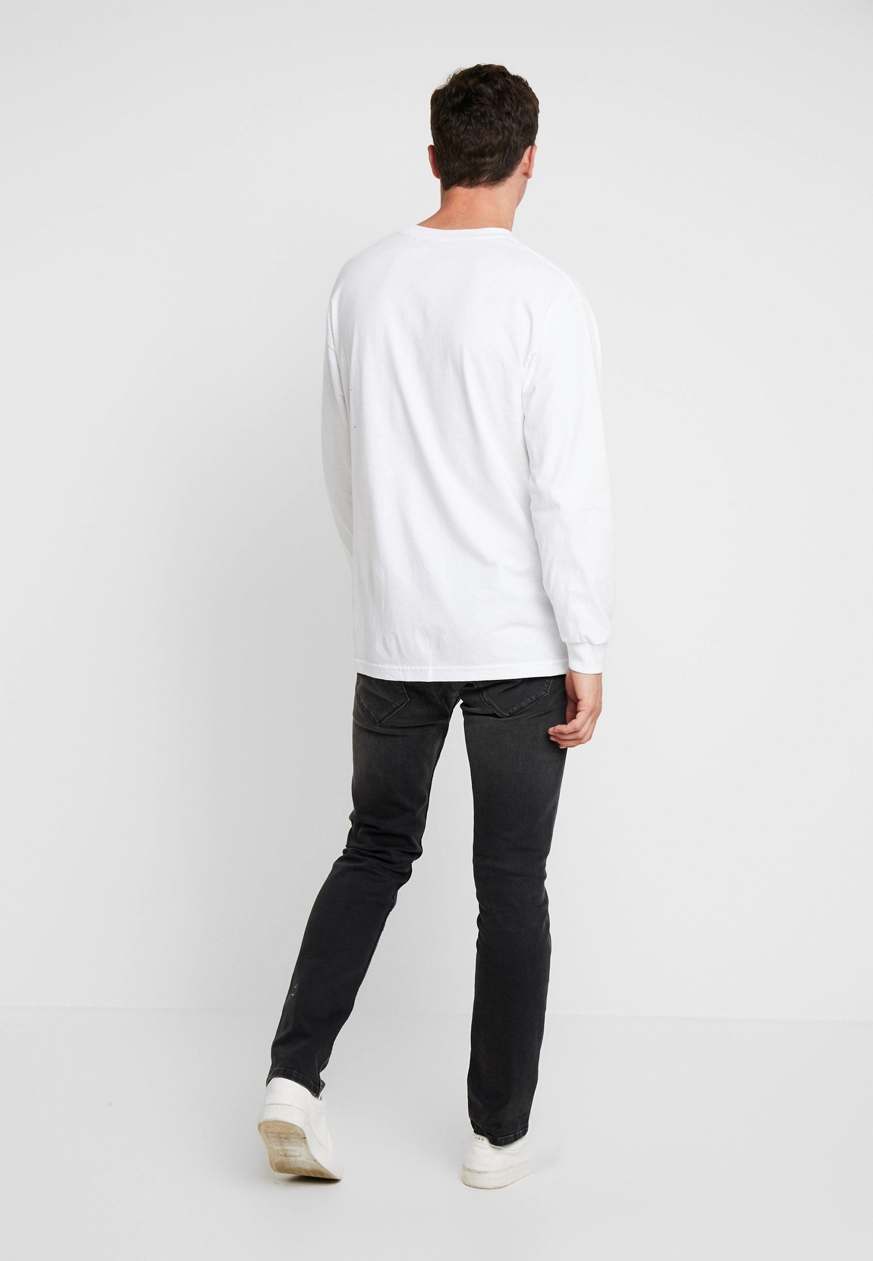 Iso Alennus Miesten vaatteet Sarja dfKJIUp97454sfGHYHD Pepe Jeans SPIKE Straight leg -farkut black denim