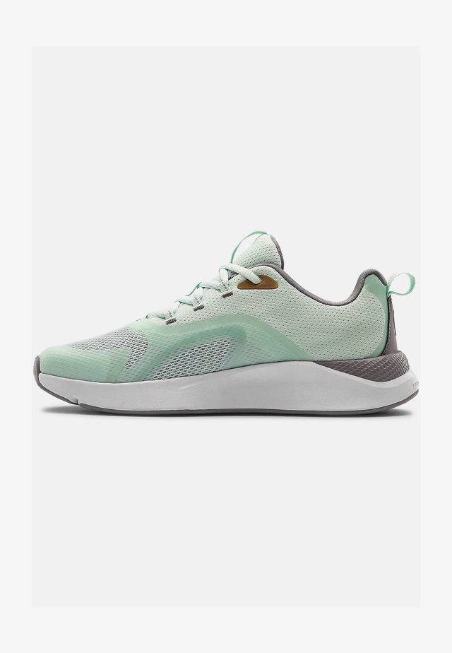 UA W CHARGED RC - Sports shoes - seaglass blue