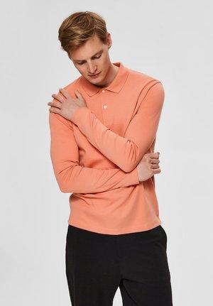 Poloshirt - tawny orange