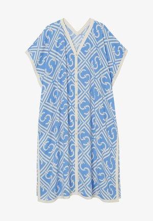 Day dress - azur blue print