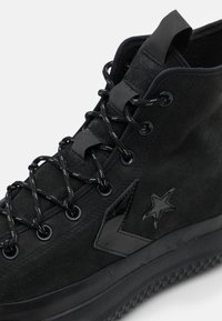 Converse - BOSEY  UNISEX - High-top trainers - black - 5