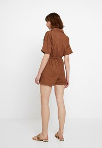 Nly by Nelly - WORKWEAR PLAYSUIT - Combinaison - brown - 3