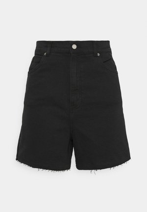 NORA - Shorts vaqueros - retro black