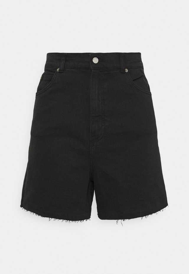 NORA - Denim shorts - retro black