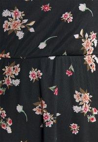 Even&Odd - Sukienka letnia - black/pink - 3