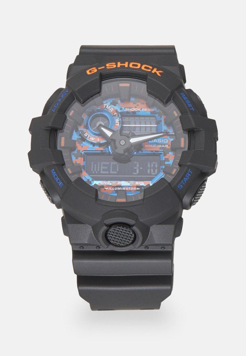 G-SHOCK - CITY CAMO - Digitální hodinky - black/blue