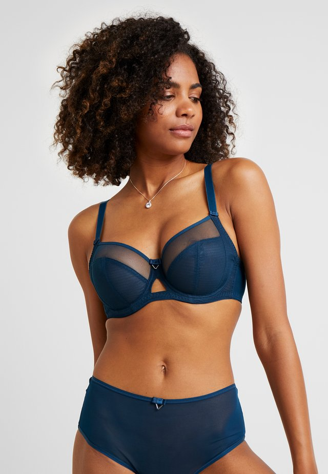 VICTORY BALCONY BRA WITH SIDE SUPPORT - Soutien-gorge à armatures - petrol