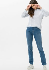 BRAX - STYLE MARY - Slim fit jeans - used light blue - 1