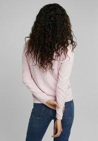 edc by Esprit - CORE ROUND NECK CARDIGAN - Cardigan - light pink - 2