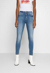 edc by Esprit - Jeans Skinny Fit - blue medium wash - 0