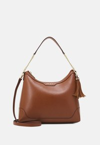 HEIDI TOP HANDLE SATCHEL - Handbag - caramel