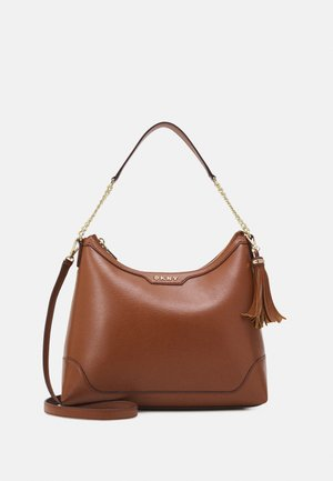 HEIDI TOP HANDLE SATCHEL - Handtas - caramel